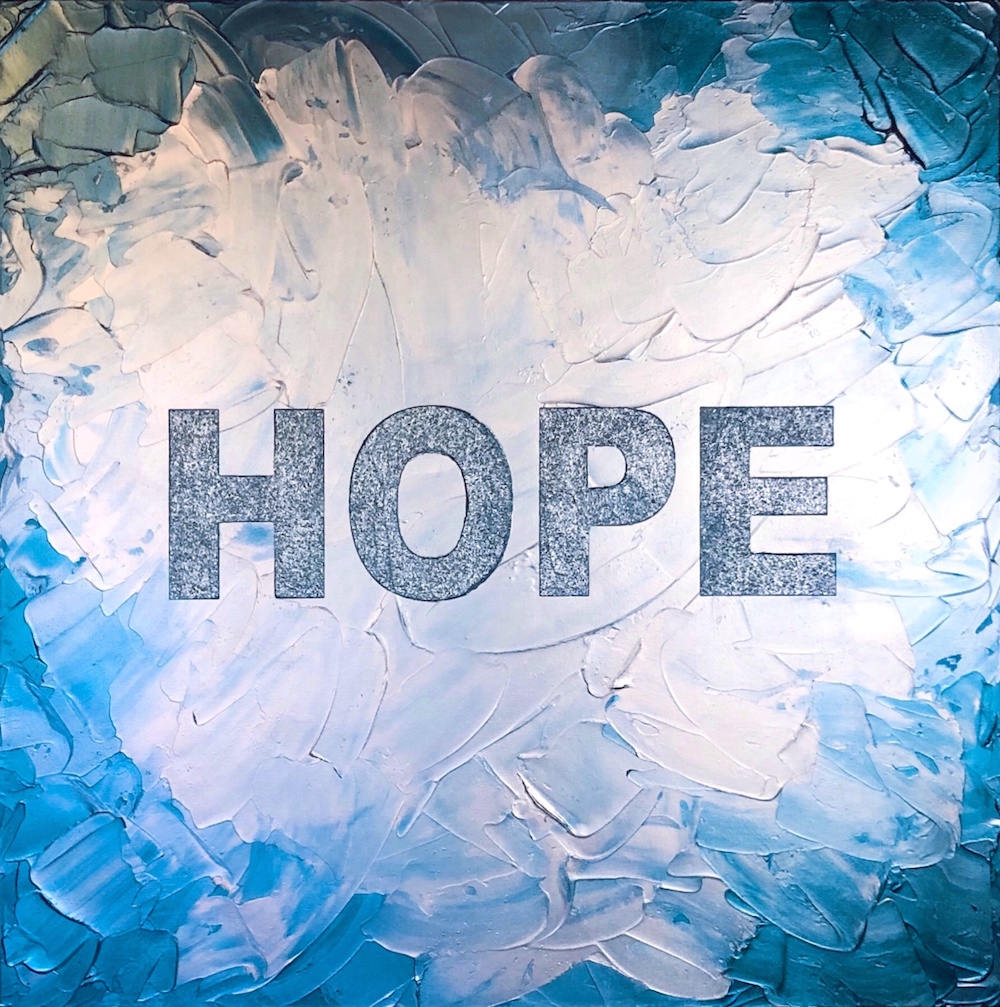 Hope Painting by Erin Matlock